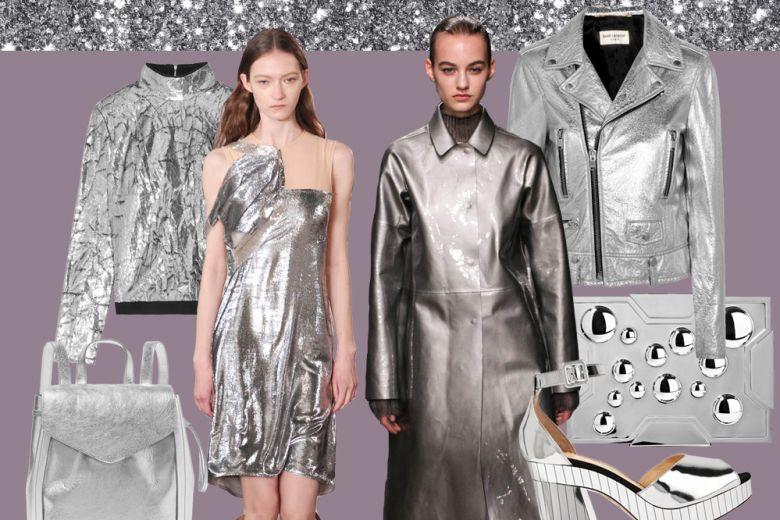 Argento: i capi e gli accessori scintillanti per l'inverno