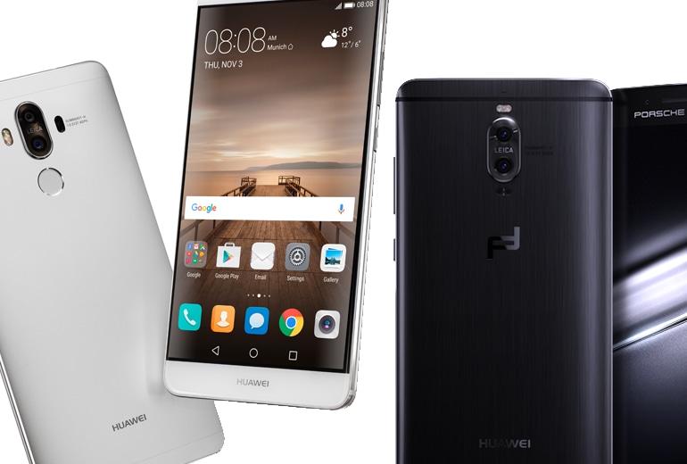 Huawei Mate 9: il nuovo smartphone top di gamma è #AStepAhead
