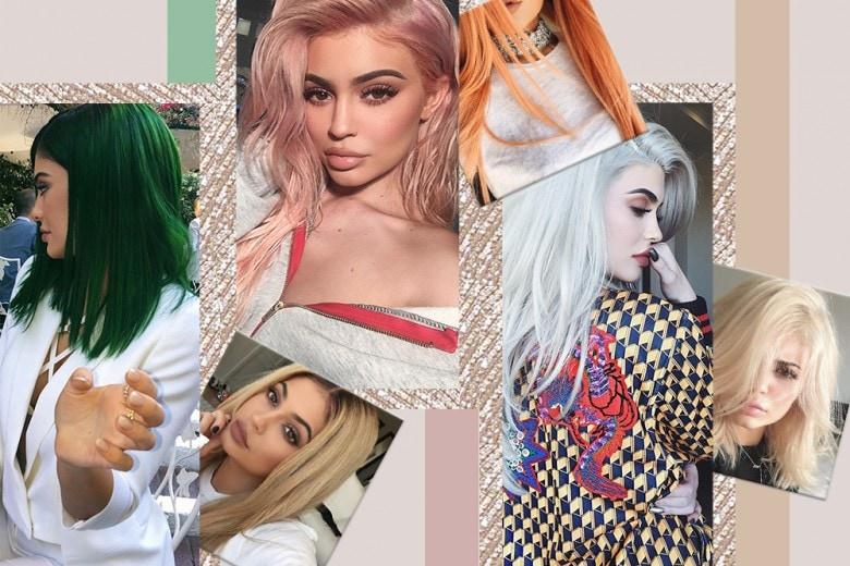 Kylie Jenner capelli: tutti i colori più belli