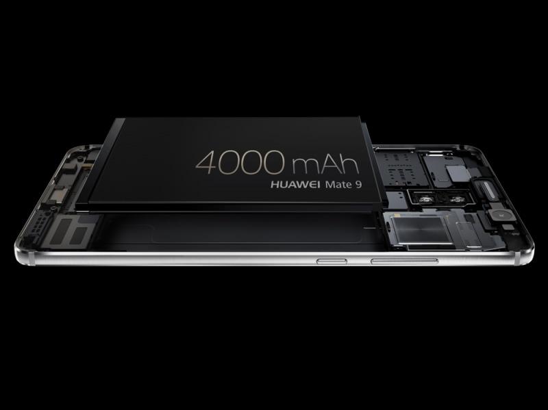 Huawei Mate 9 – La batteria