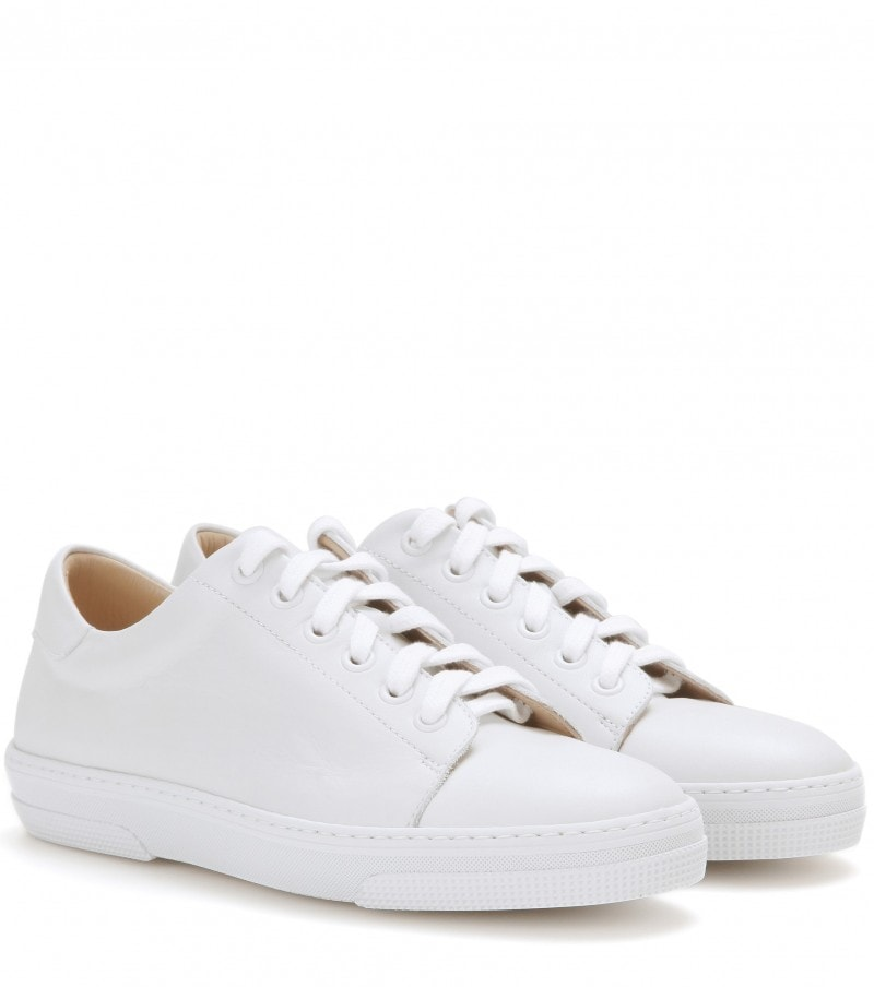 apc sneakers bianche pelle