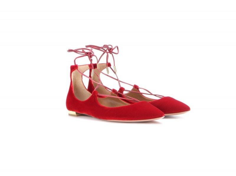 aquazzura-scarpe-velluto-rosse