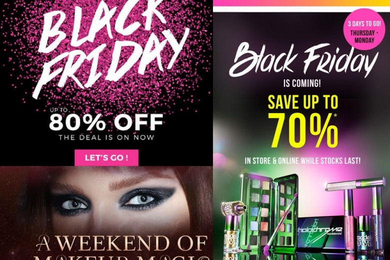 Black Friday trucchi e make up: sconti e offerte imperdibili