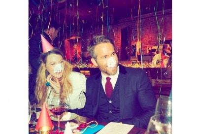 blake lively ryan reynolds festa compleanno