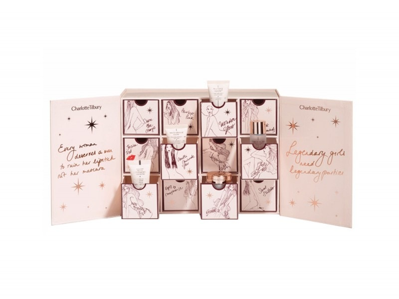 calendario dell'avvento beauty charlotte tilbury