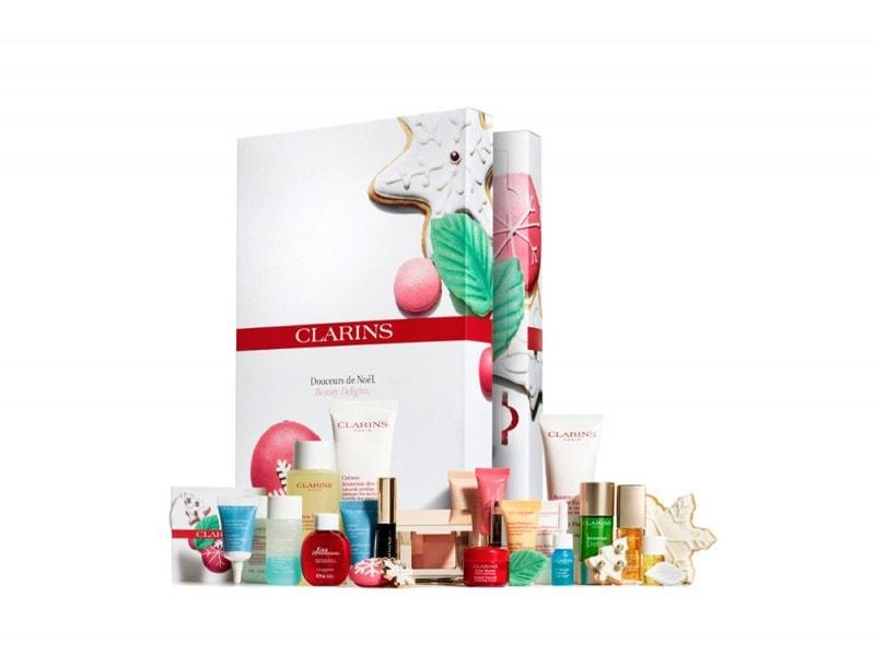 calendario dell'avvento beauty clarins