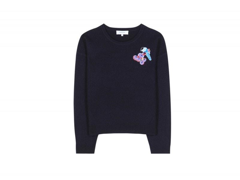 carven-maglione-blu-uccellino