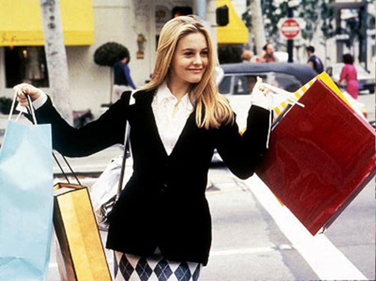 clueless scena shopping