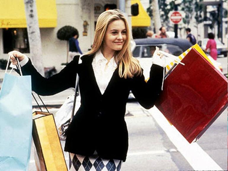 clueless scena shopping