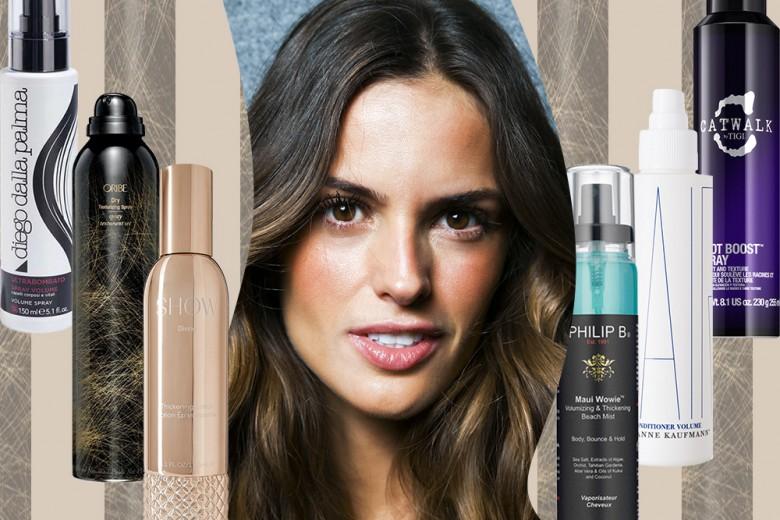 Gli spray texturizzanti per capelli a tutto volume