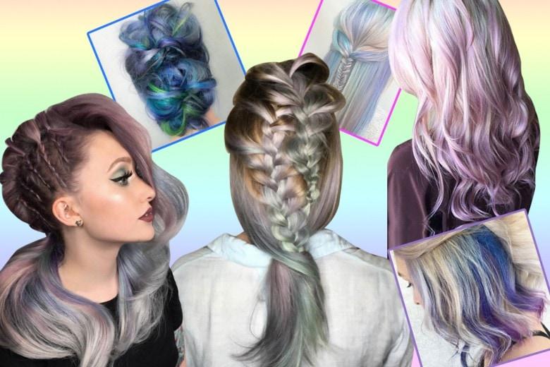 Capelli Mermicorn Hair, la tendenza multicolore da Instagram