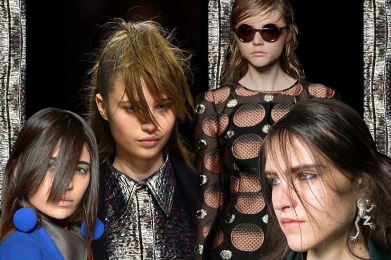 Capelli a tendina, la tendenza evoluzione del natural look