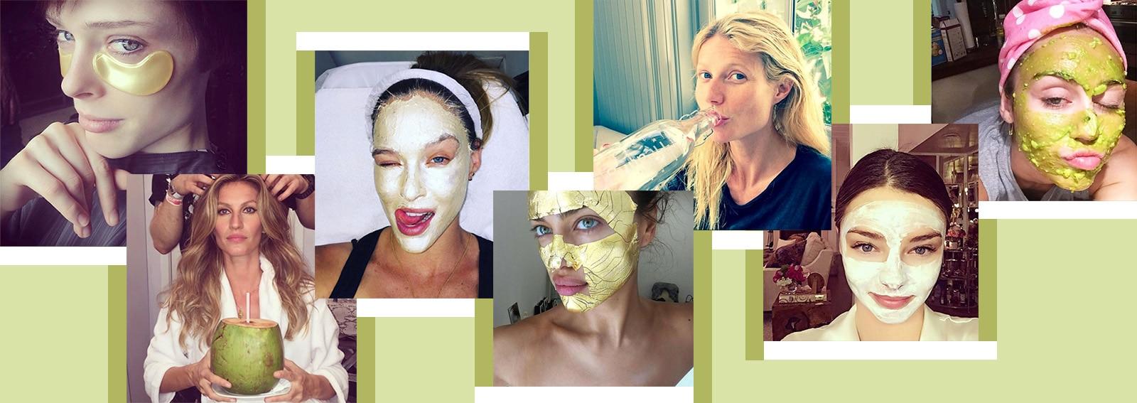 i segreti di bellezza delle star svelati su instagram