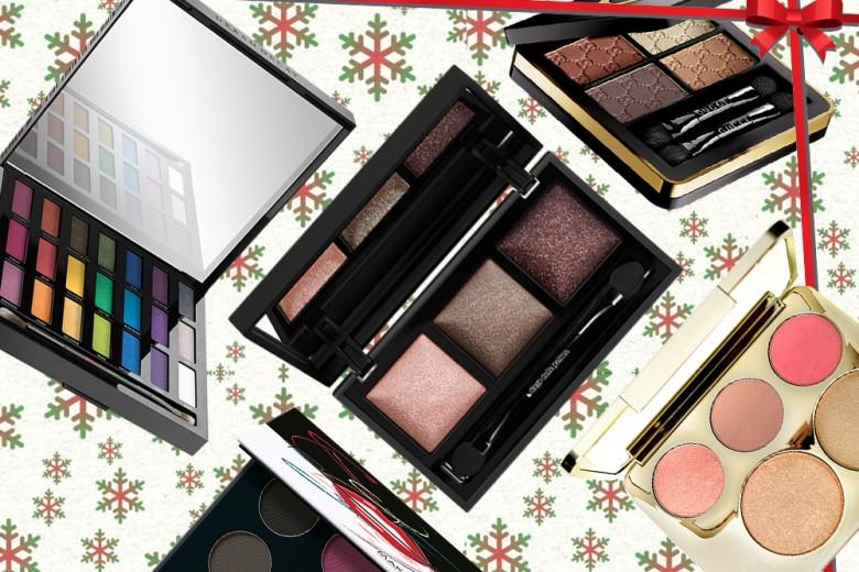 Le migliori palette di ombretti del Natale 2016