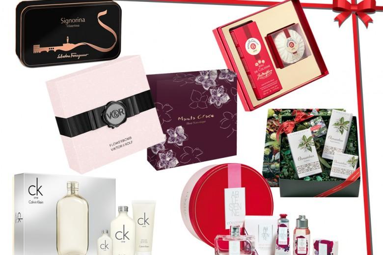 Regali di Natale: cofanetti e profumi per lei
