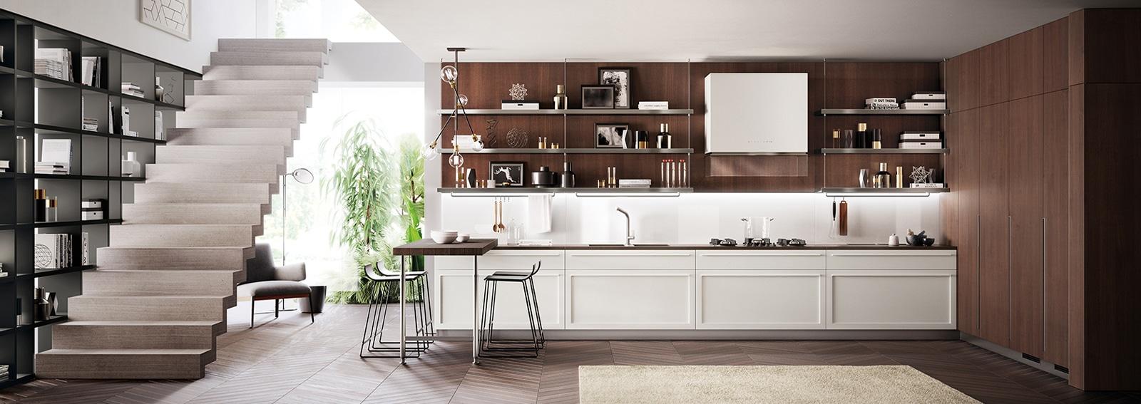 Scavolini le pi belle cucine moderne for Camere da letto moderne scavolini