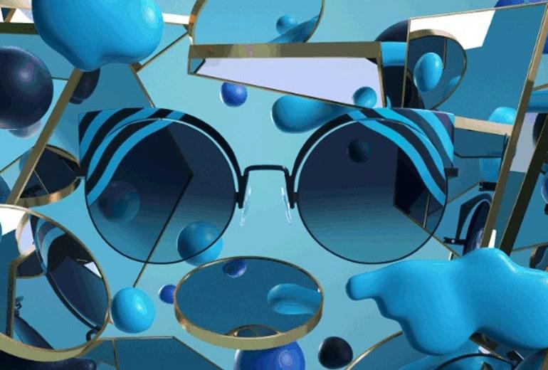 HypnoShine, gli occhiali da sole ipnotici firmati Fendi