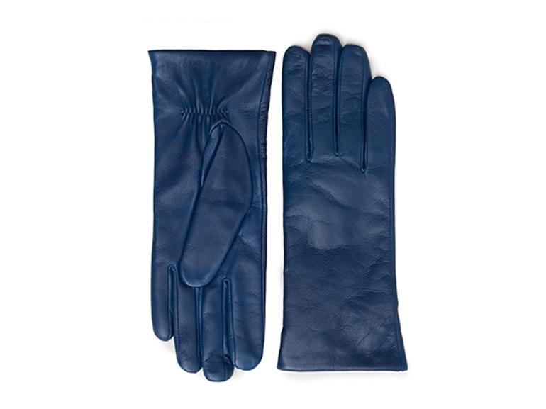 furla guanti blu