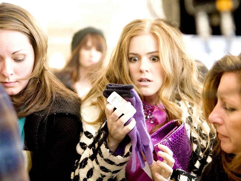 i love shopping scena film