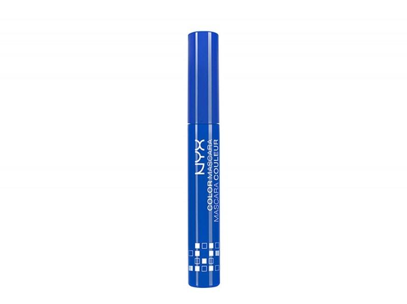 nyx mascara in blue