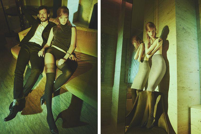 Philippe Matignon: lo shooting fotografico con Grazia