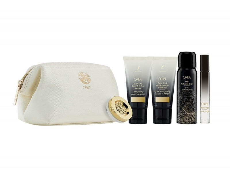 regali-natale-mamma-beauty-Oribe-Travel-Bag- Essentials