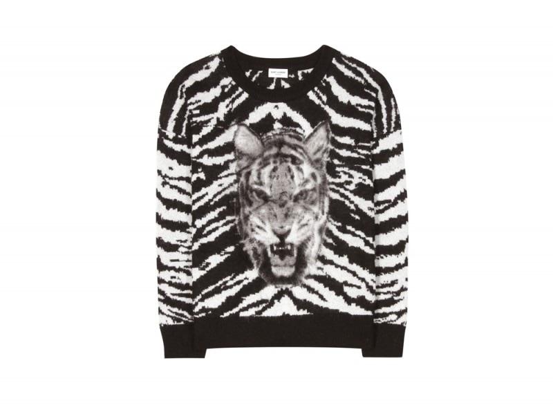 saint-laurent-maglia-tigre