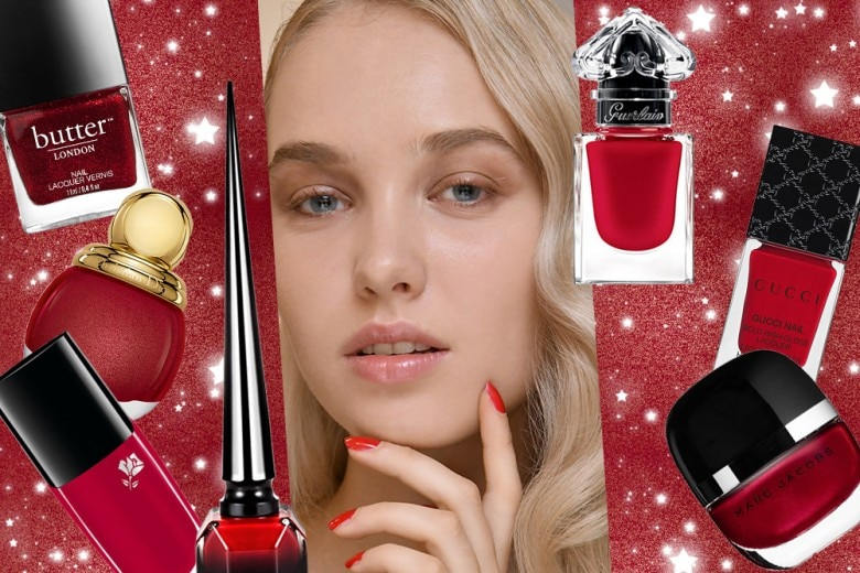 Gli smalti rossi più belli per le manicure delle Feste