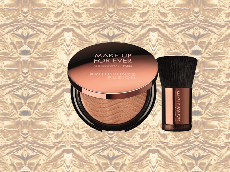 trucco bronzo bronzer make up for ever