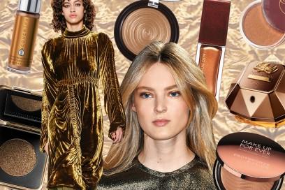 Trucco bronzo: i prodotti di bellezza più preziosi del momento