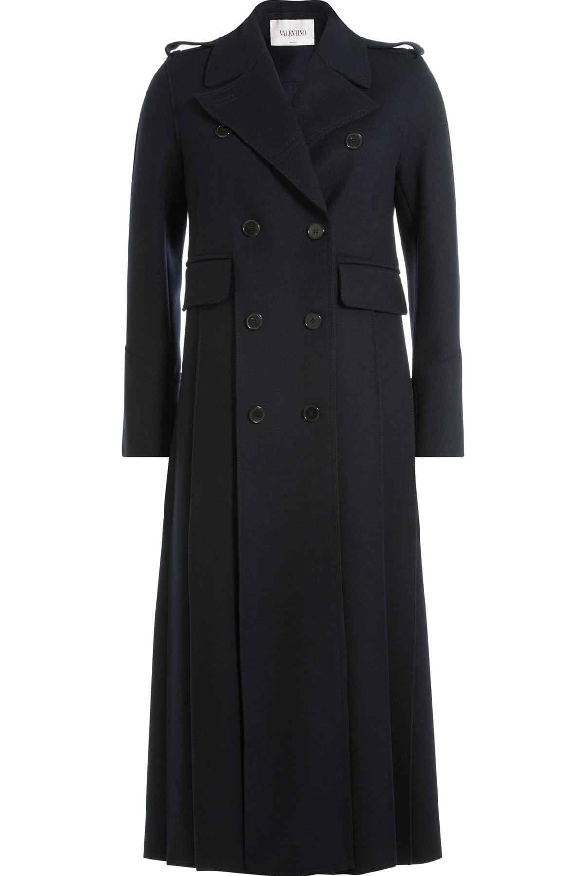 valentino cappotto blu