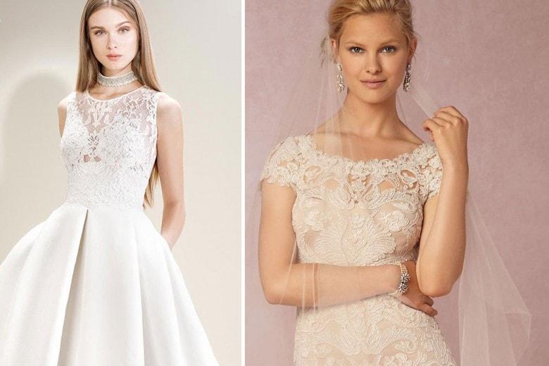 Gli abiti da sposa in pizzo per il 2017