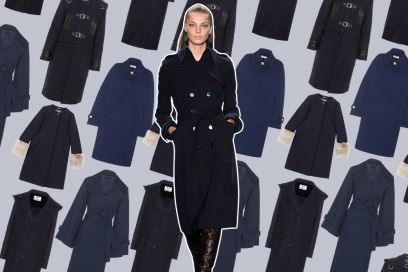 10 cappotti blu per l'inverno