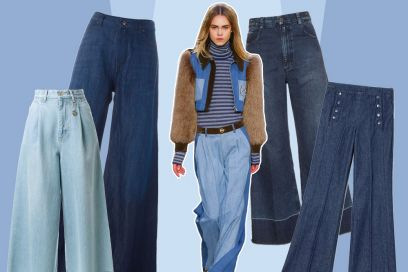 I jeans a palazzo per l'inverno 2016