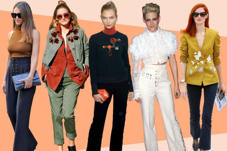 Pantaloni: i modelli preferiti dalle celeb