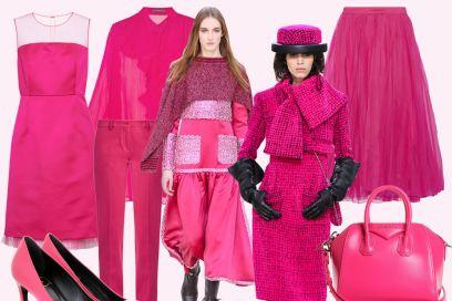 Think pink: i capi e gli accessori rosa per l'inverno 2016