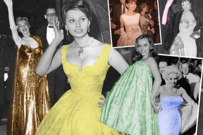 I red carpet vintage delle star di Hollywood