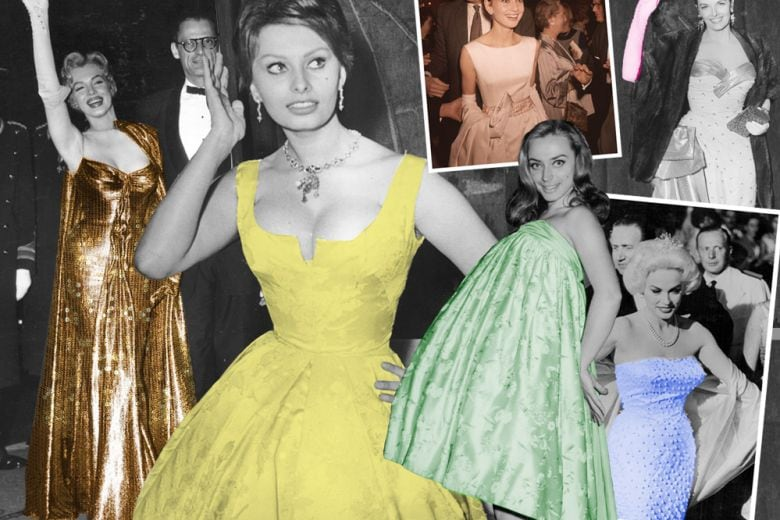 I red carpet vintage delle star di Hollywood