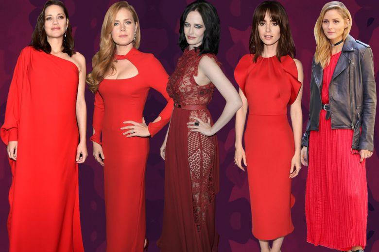 Red passion: il rosso indossato dalle celeb