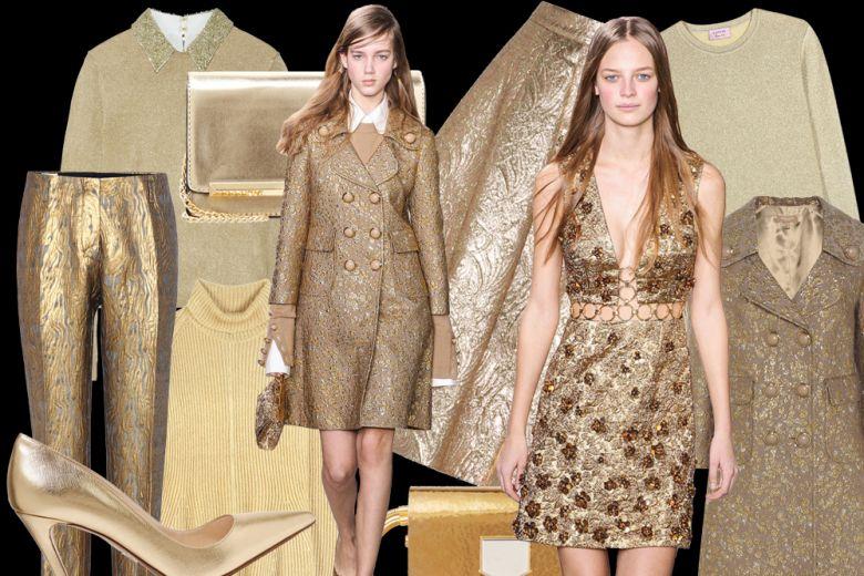 Color oro: la tendenza per l'inverno
