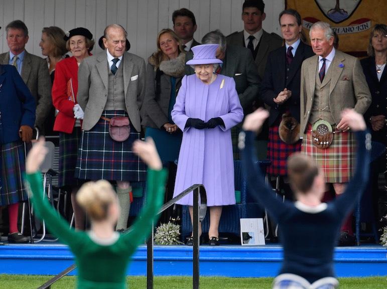 The 2016 Braemar Highland Gathering