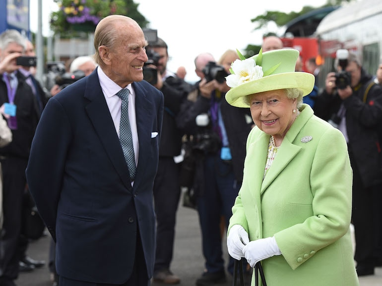 The Queen & Duke Of Edinburgh Visit Northern Ireland