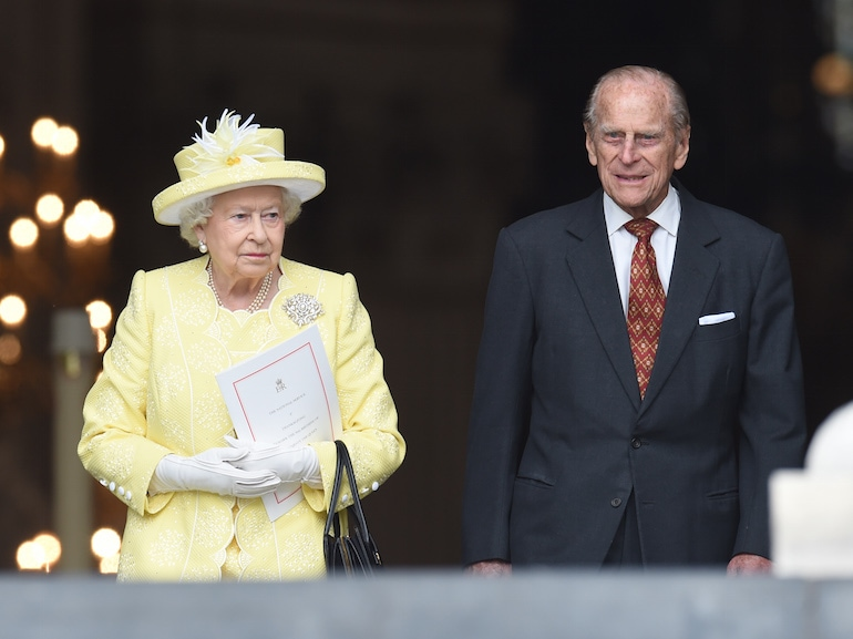 National Service Of Thanksgiving To Celebrate The Queen's 90th Birthday