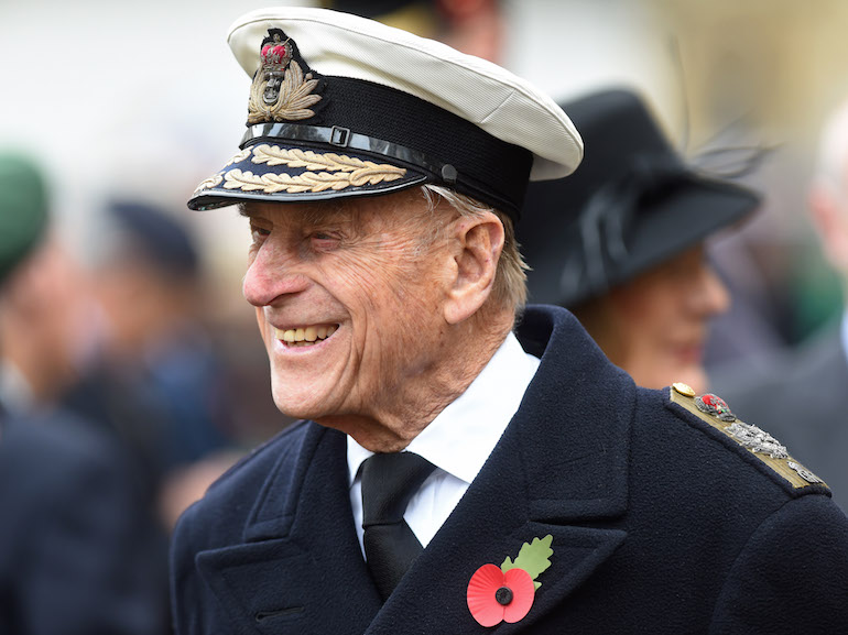 Duke Of Edinburgh And Prince Harry Visit The Fields Of Remembrance