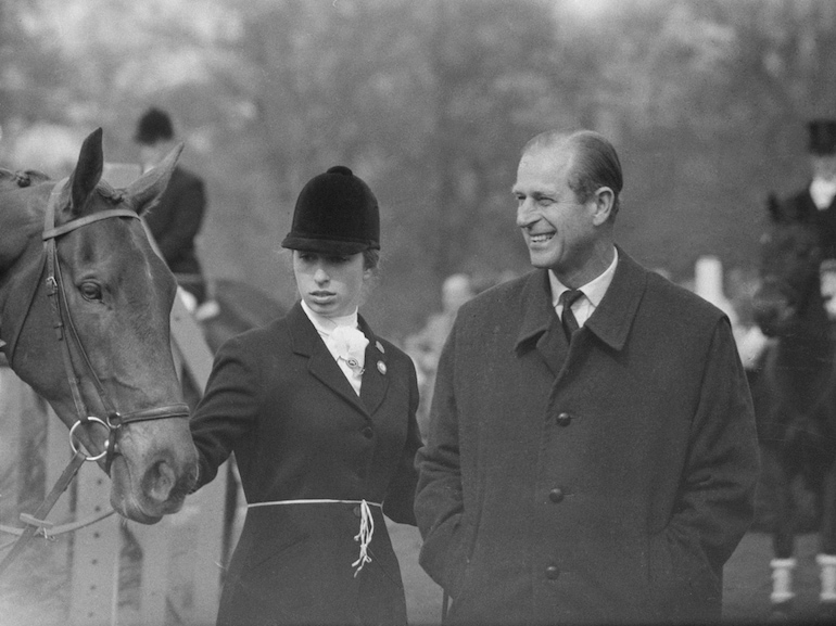 Princess Anne And Prince Philip