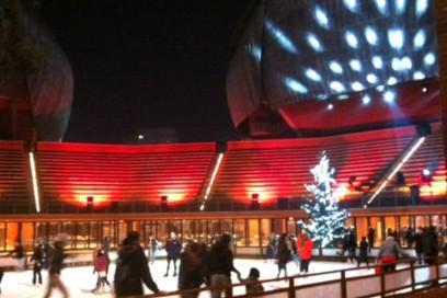 Ice Park all'Auditorium Parco della Musica