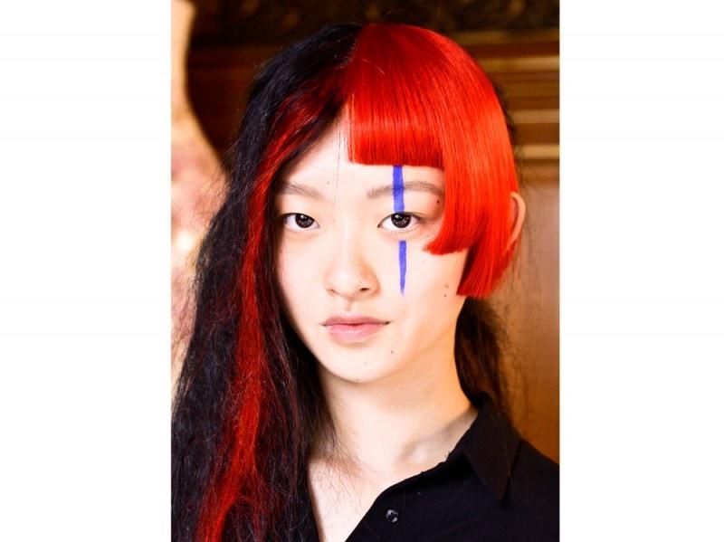Yohji-Yamamoto capelli tagli asimmetrici