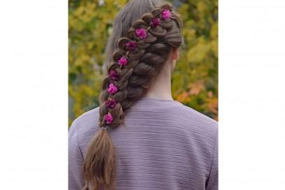 capelli treccia laterale
