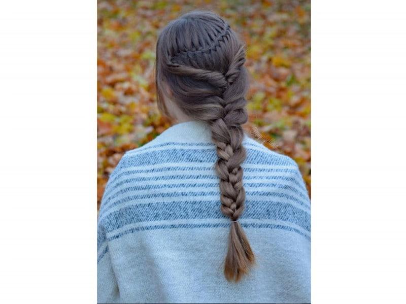 capelli treccia