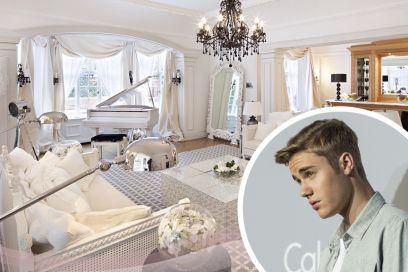La nuova casa di Justin Bieber a Londra